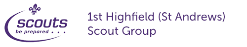 1st Highfield (St Andrews) Scout Group Logo